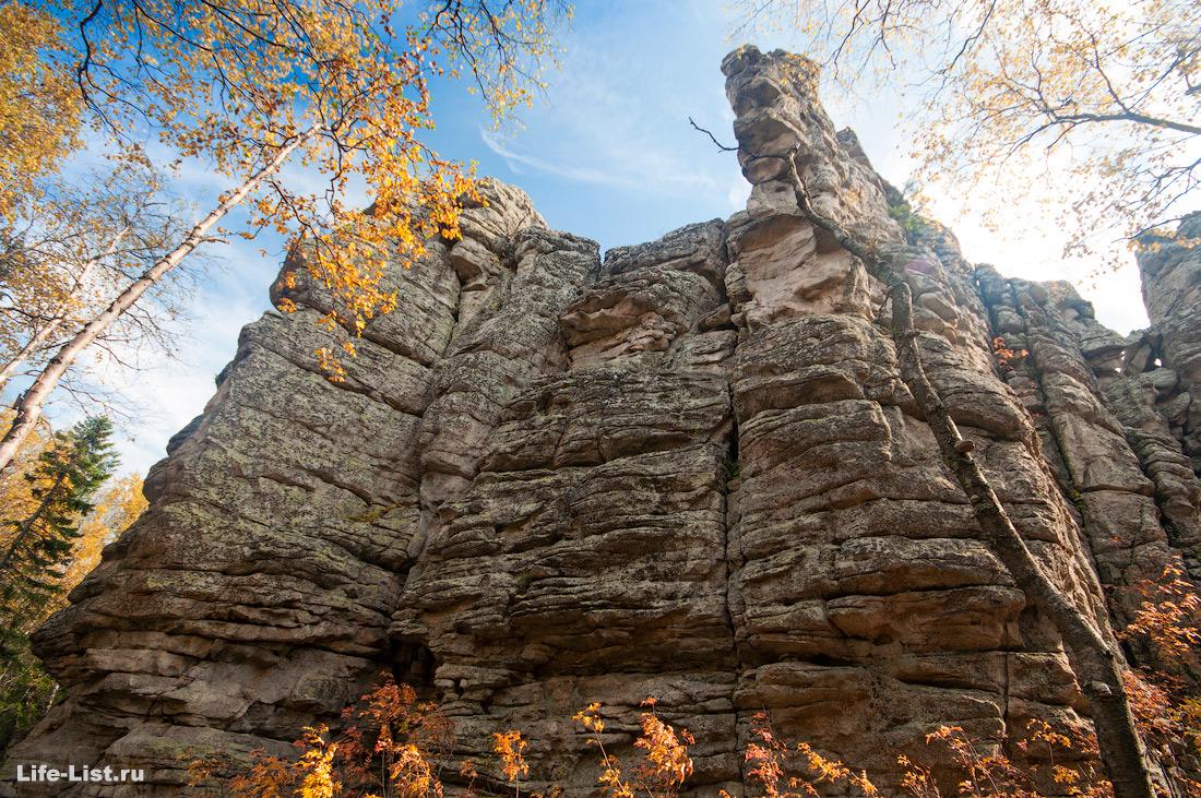 Скалы три брата Таганай Южный Урал