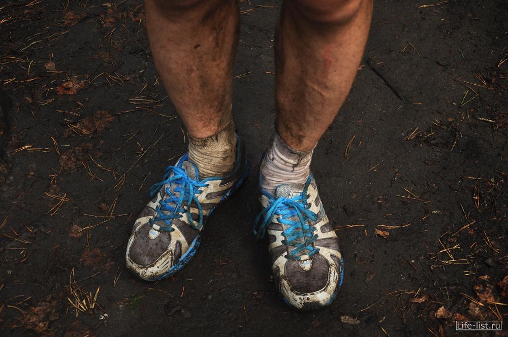 кроссовки после марафона фото ноги