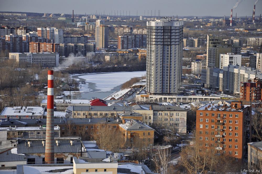 фото Река Исеть ЖК Адмиральский