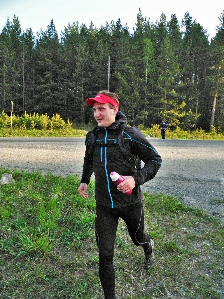 Ural Ultra-trail 2016 первые километры