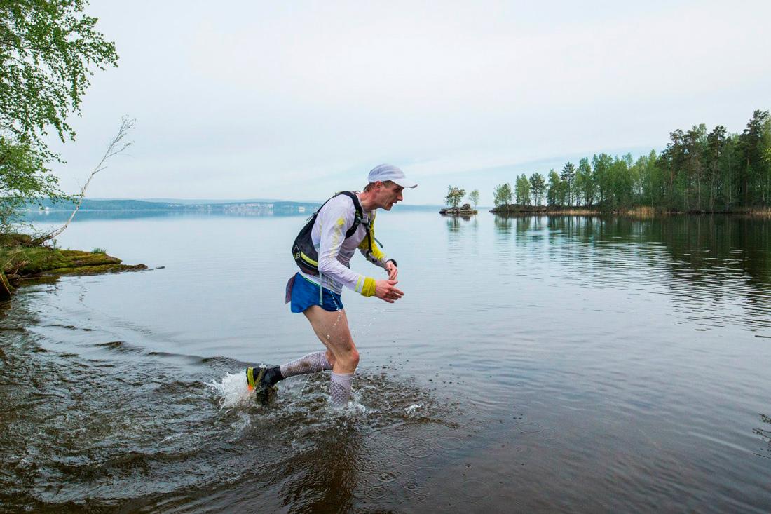Ural Ultra-trail 2016 лидер на 100км