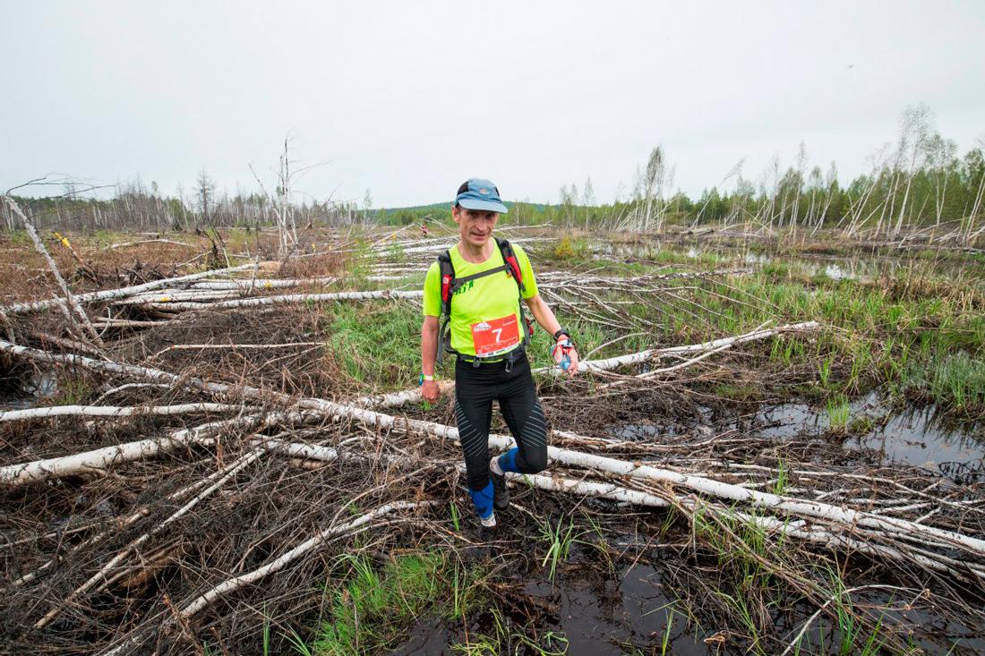 Ural Ultra-trail 2016 линейный ультрамарафон торфяные болота 100км