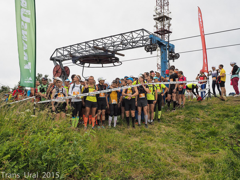 старт на горе Ежовая Трансурал 2015