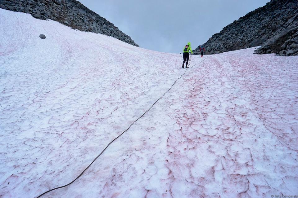 трансурал 2017 приполярный этап снежник на горе Народная