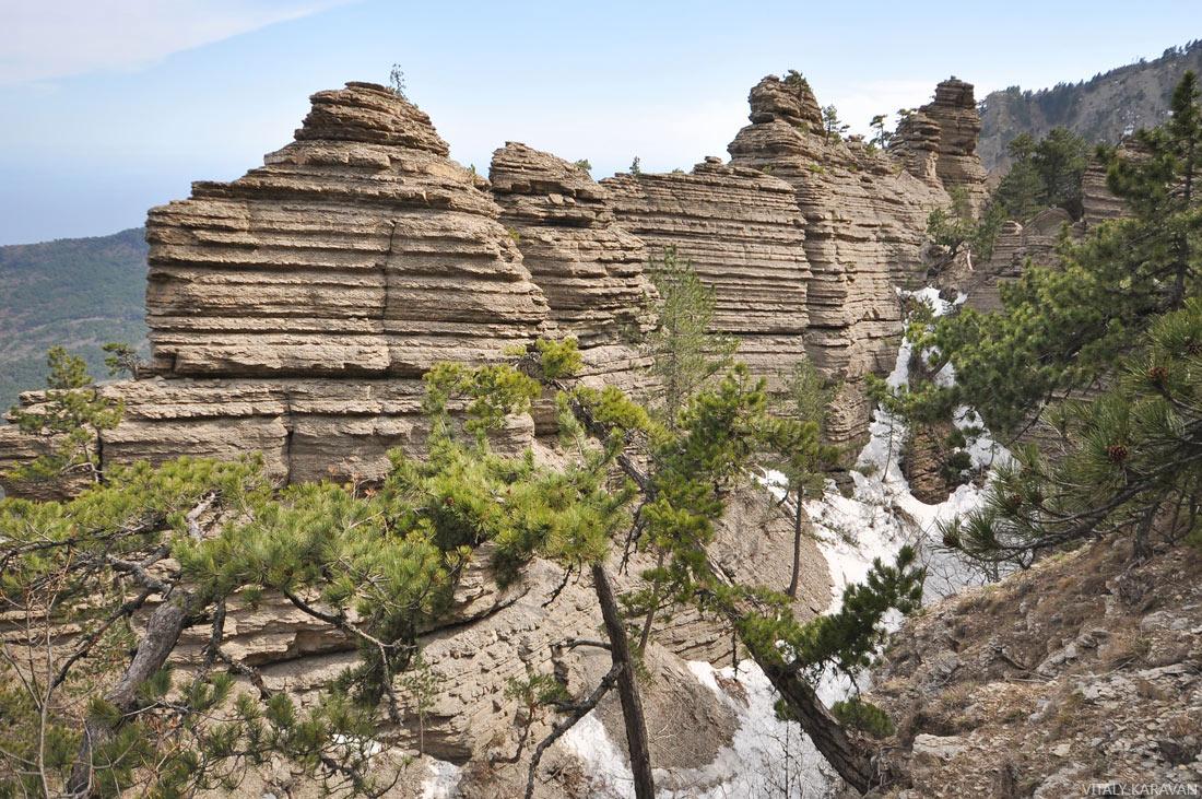 скалы Таракташ Крым