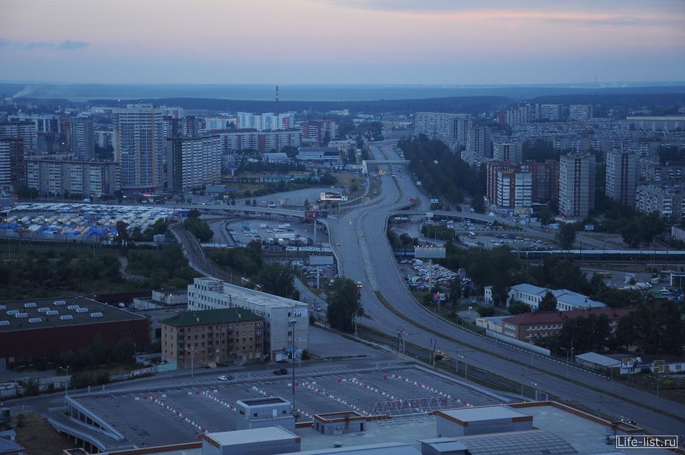 автомобильная развязка на сортировке эстакада Екатеринбург