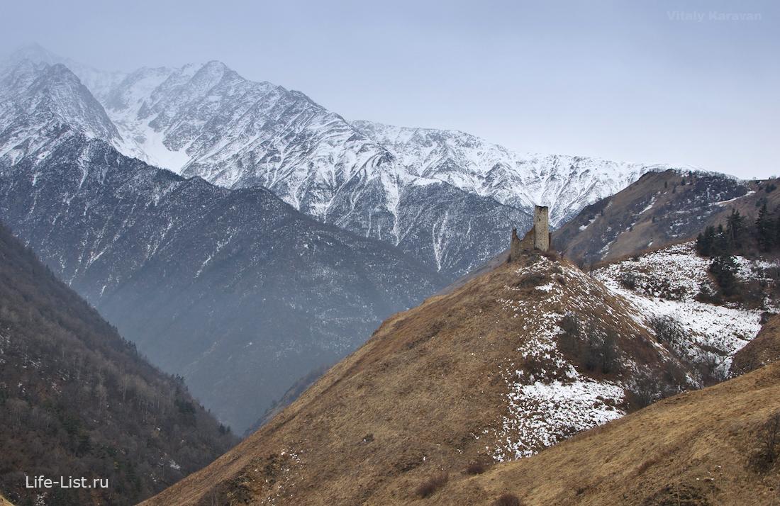 цори башенный комплекс в Ингушетии фото