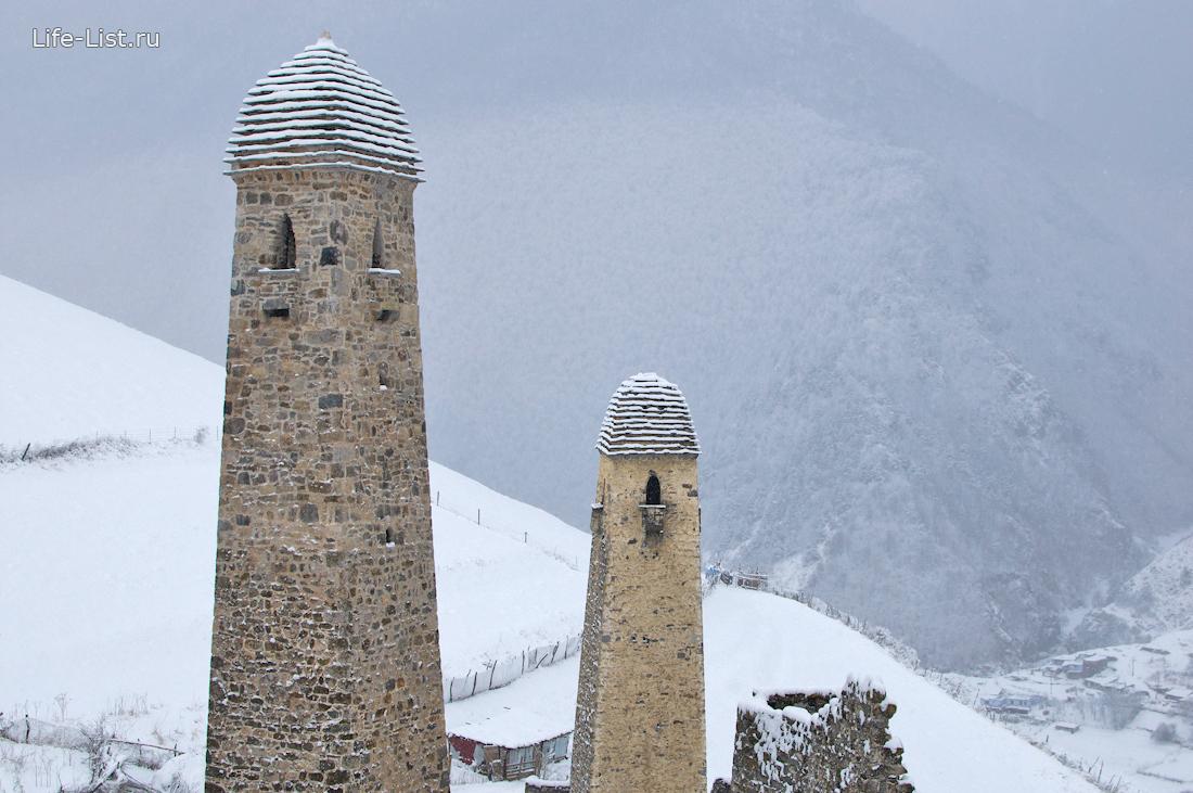 башни ингушетии комплексы фото