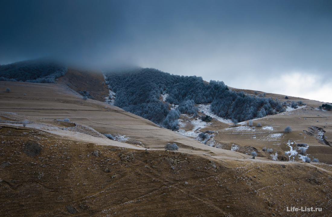 Джейражский район Ингушетии зима фото Виталий Караван
