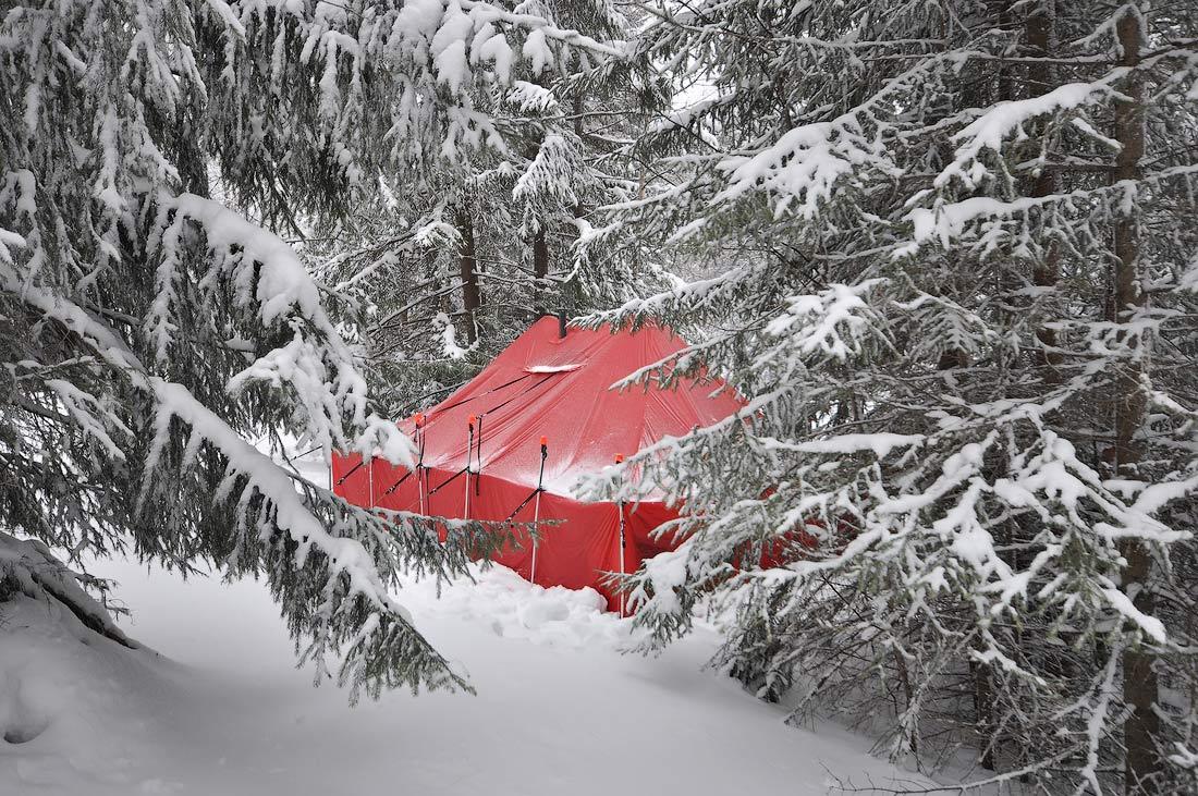 зимний шатер на 16 человек фото