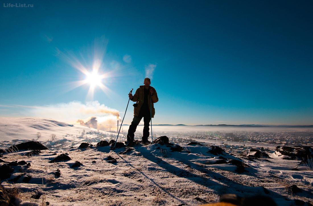 гора Станционная красный камень Верхний Уфалей
