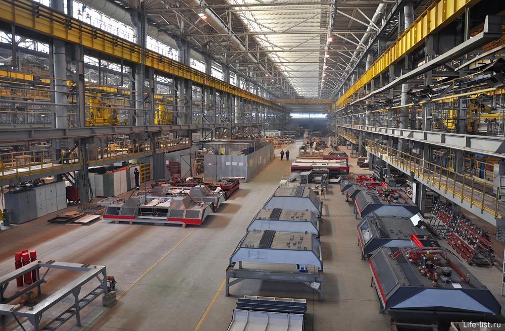 Цех Уральские локомотивы