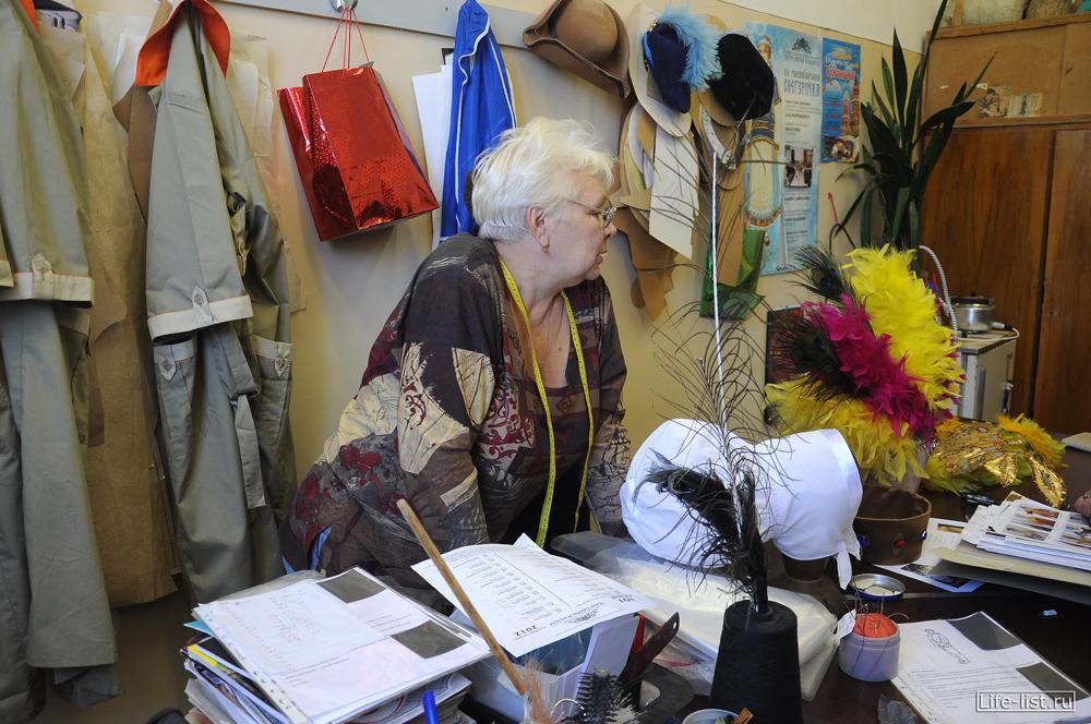 мастерская по изготовлению шляп и головных уборов для артистов театра оперы и балета