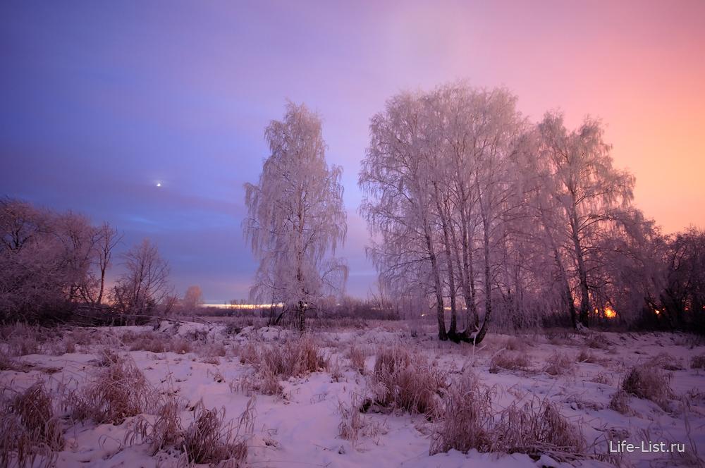 красивая русская зима фото