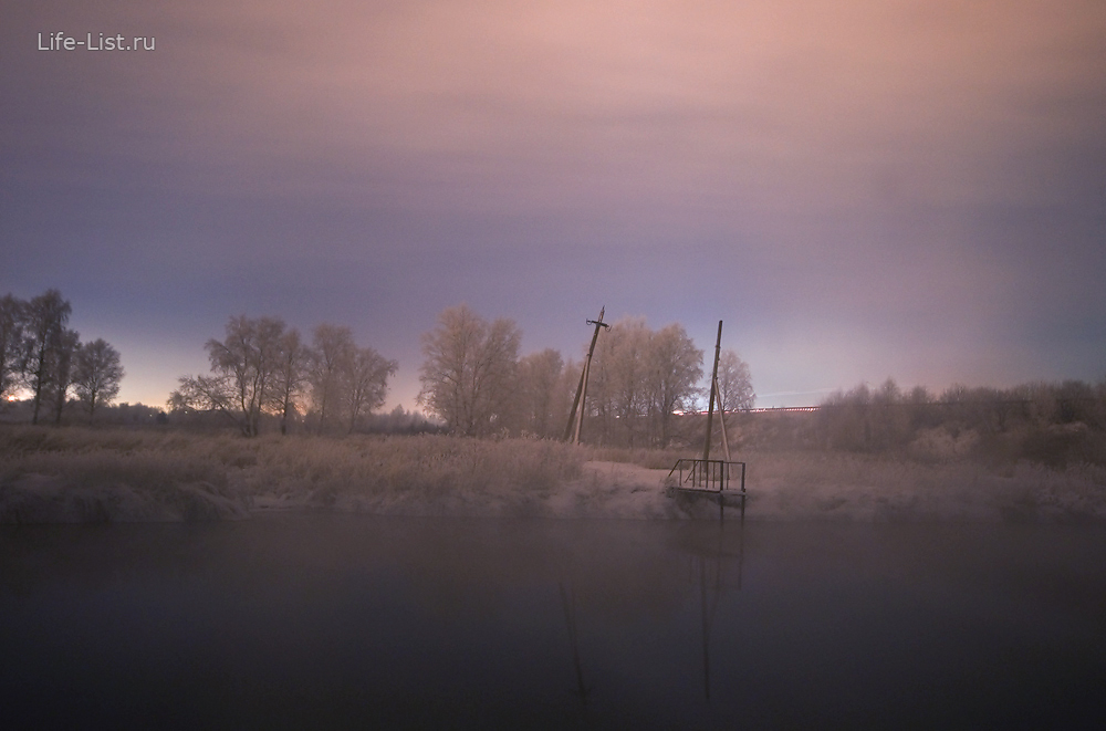 фото Виталий Караван река Исеть зимой