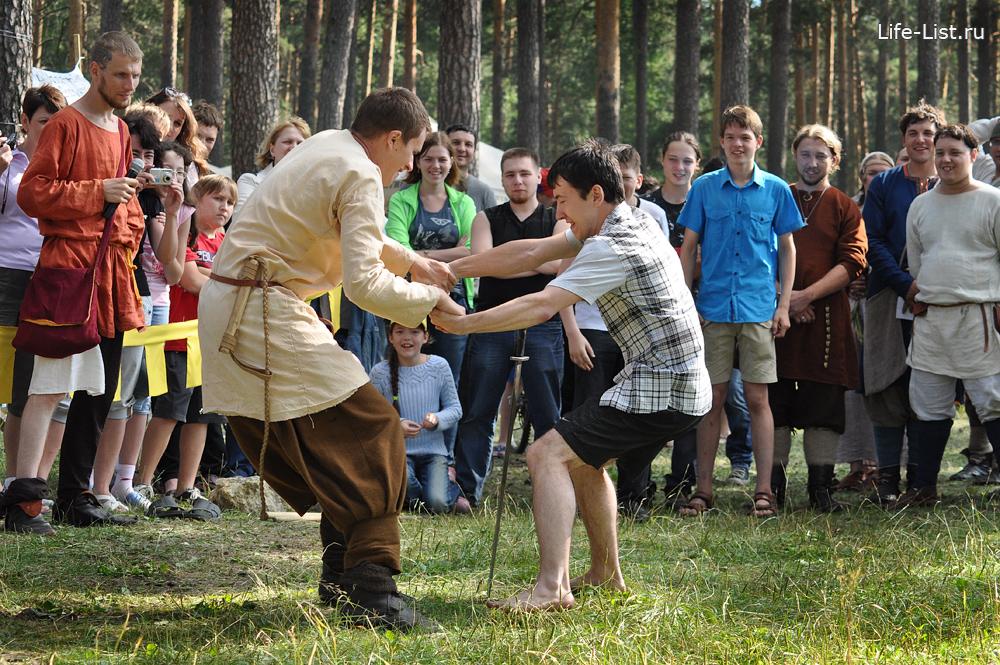 фестиваль исторической реконструкции варяги средневековые игры у меча
