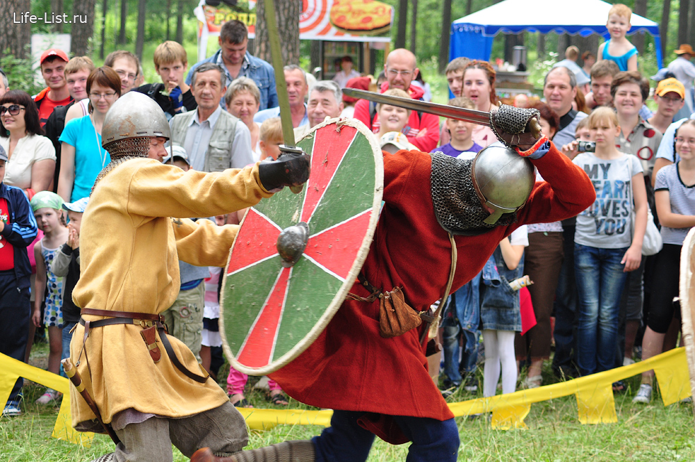 бугурты поединок на мечах средние века реконструкция