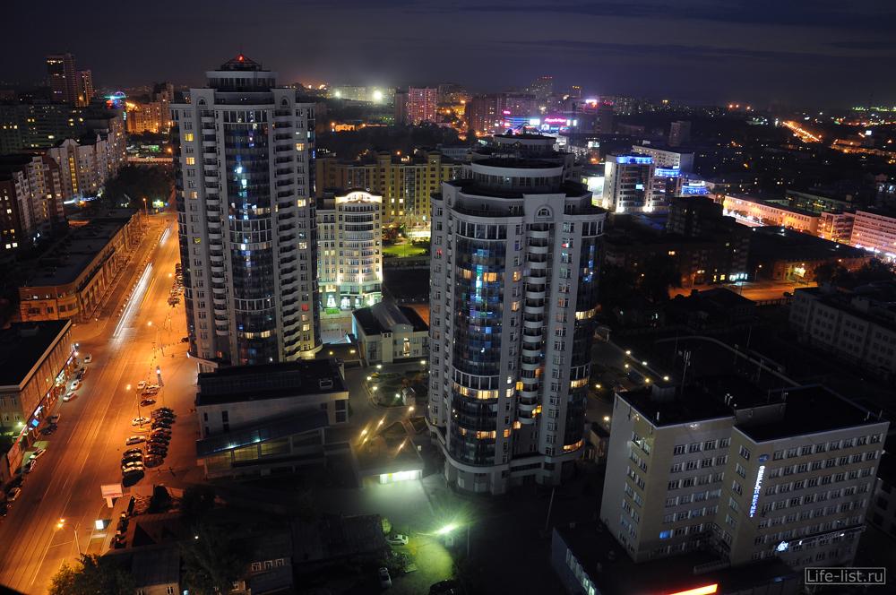 ЖК Аквамарин Екатеринбург с высоты
