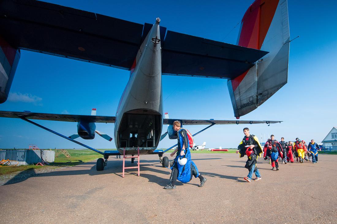 посадка на ан-28 соревнования Мензелинск