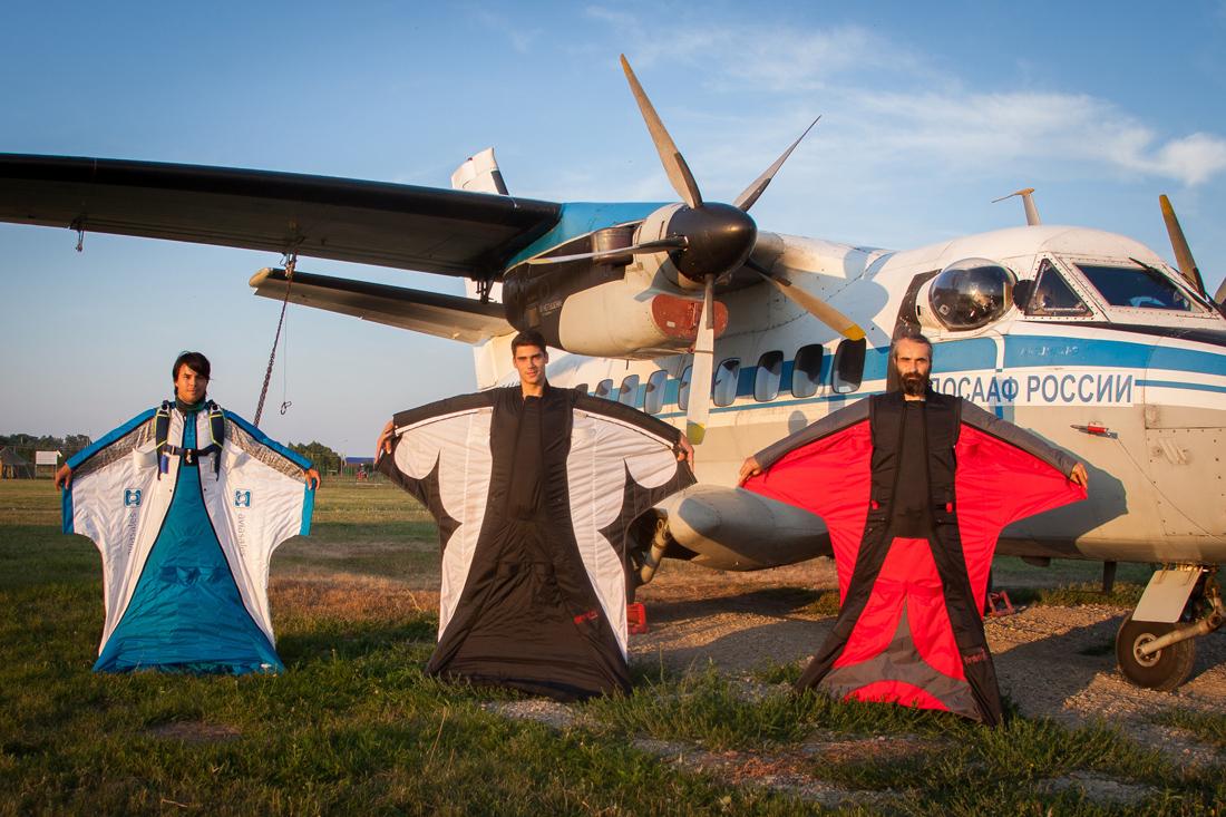 Wingsuit  (вингсьют) костюм фото
