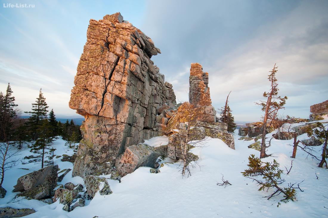 скалы Крепость вершина Юрма