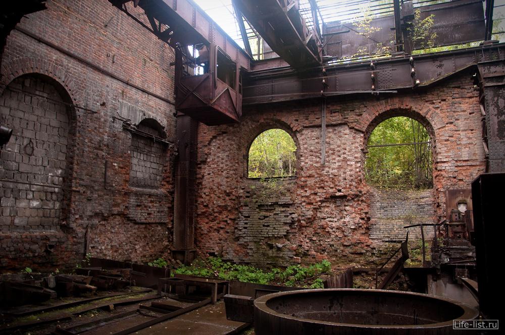 Мартеновский цех завод музей в Нижнем Тагиле фото