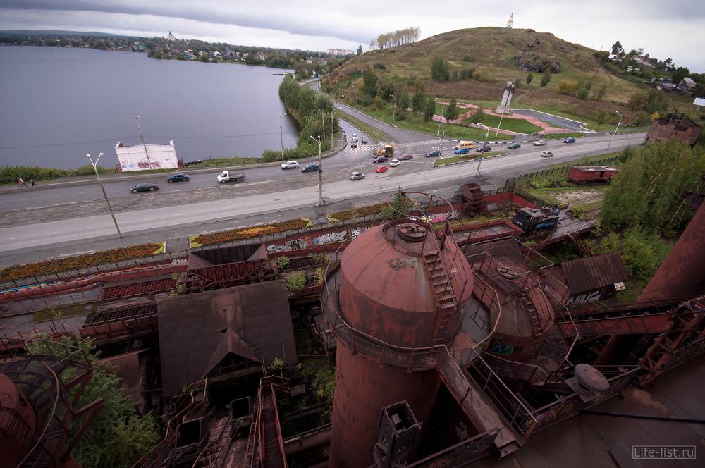 металлургический завод музей вид сверху в Тагиле