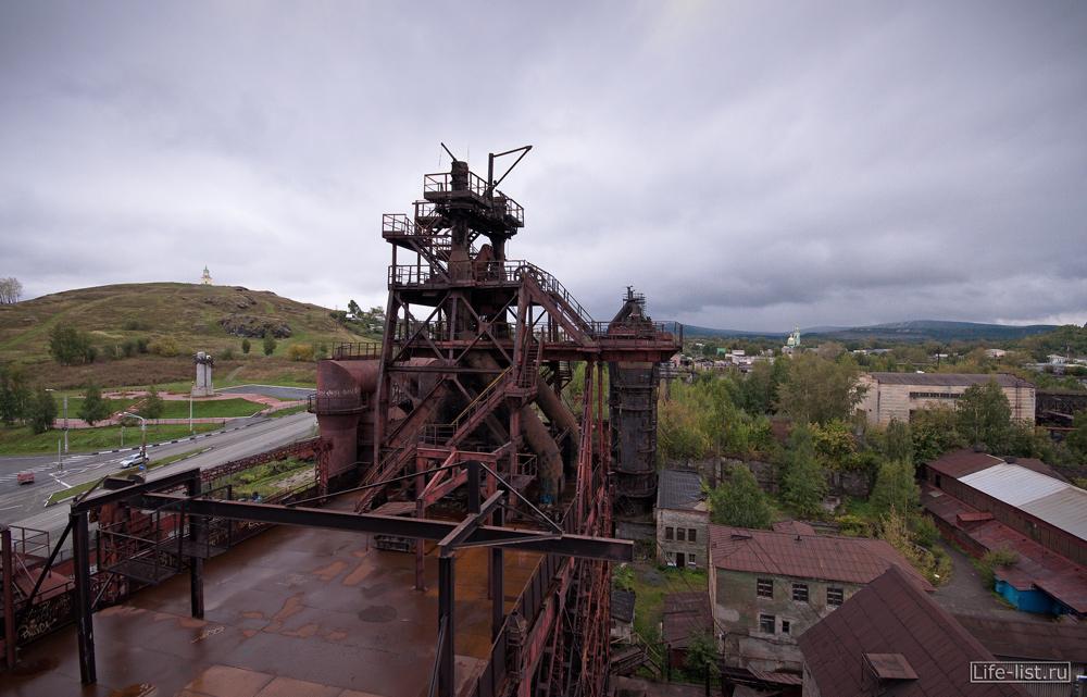 домены трубы завода в тагиле фото Виталий Караван