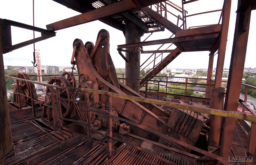 конструкции и механизмы завода музея в тагиле