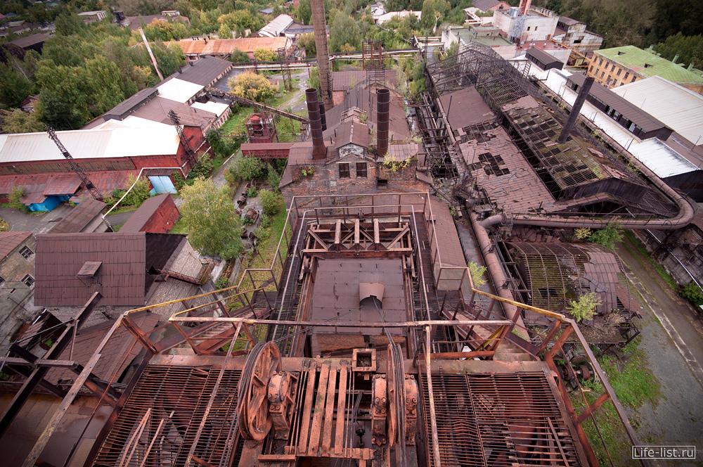 завод музей под открытым небом в Нижнем тагиле