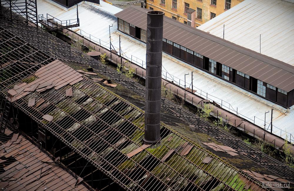 труба старого завода фото Виталий Караван