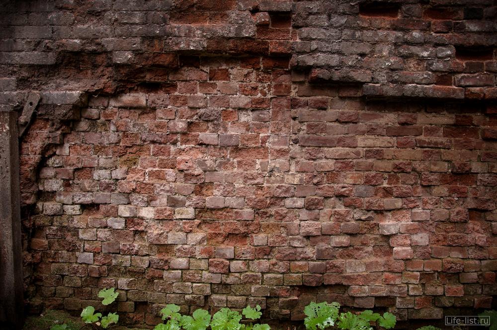 кирпичная стена мартеновского цеха Нижний Тагил
