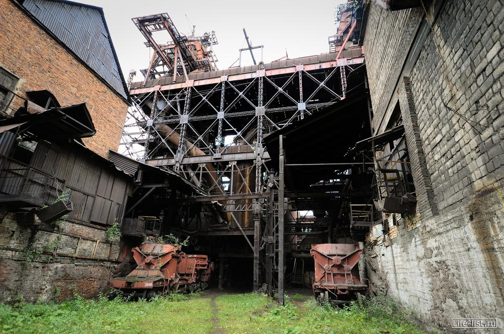 доменный цех завод под открытым небом в тагиле фото Виталия Каравана