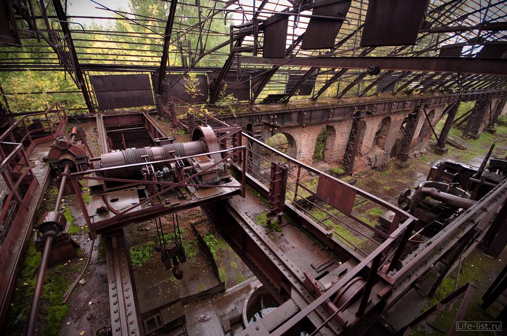 Кран балка мартеновский цех завода музея Тагил