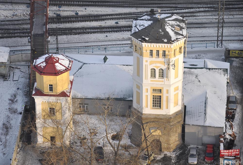 Башни на железной дороги Екатеринбурга