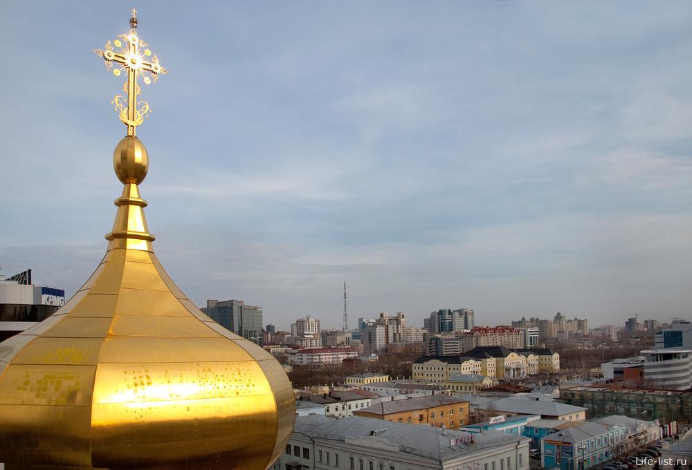 Купол храма Большой златоуст