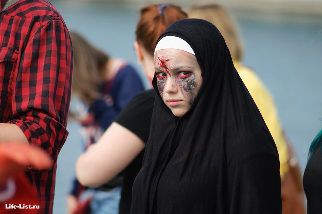 парад зомби в Екатеринбурге 2014