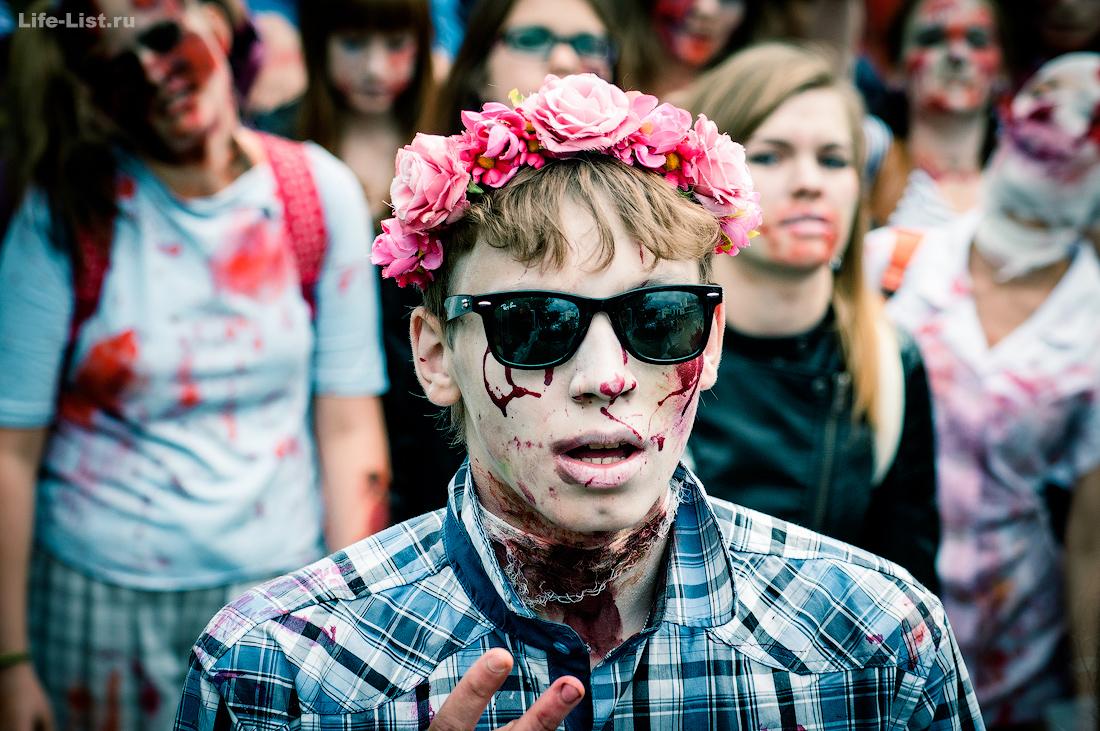 парад зомби в Екатеринбурге zombie_mob2015 фотограф Виталий Караван