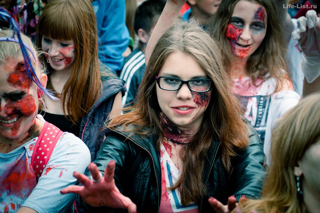 флешмоб зомби моб zombie mob 2015