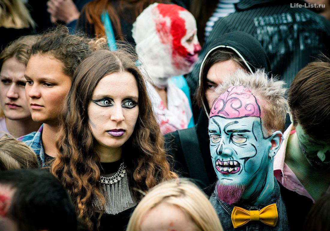 флешмоб зомби моб Екатеринбург zombie mob 2015