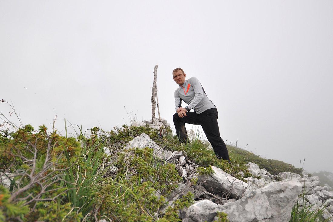 беговой поход в сторону Бзыбского хребта высота 1850м Виталий Караван