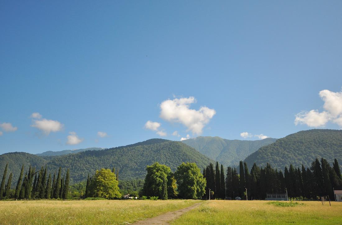 гора Дыдрыпш Абхазия анчарданская поляна