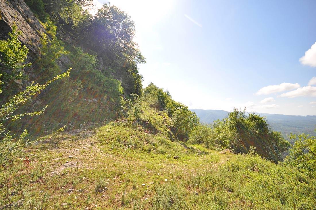 Дорога на гору Дыдрыпш