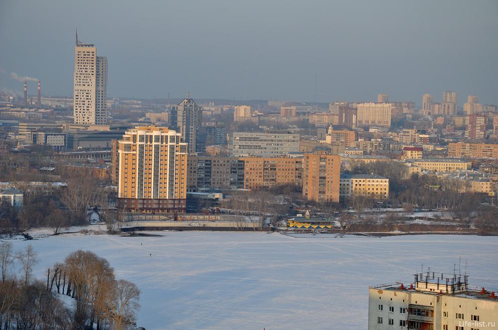 Екатеринбург  городской пруд
