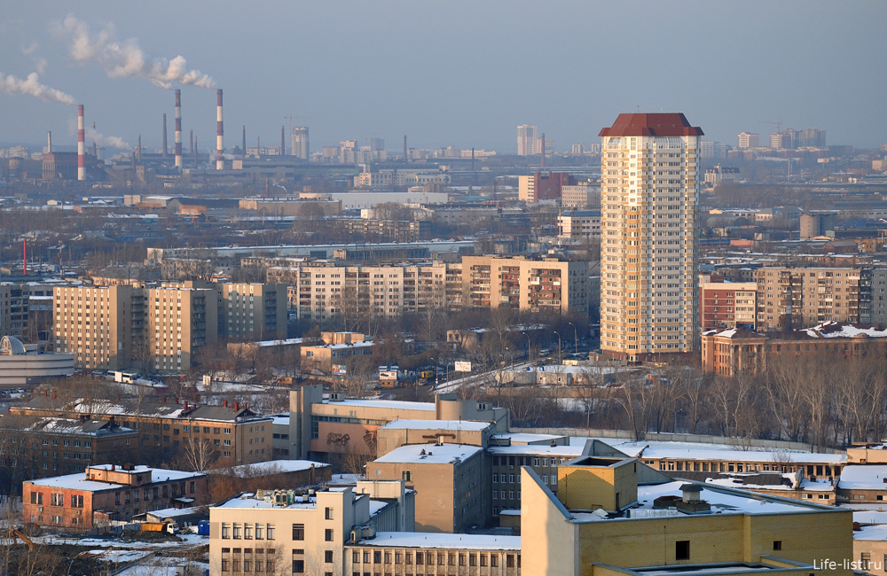Екатеринбург высотка на гражданской