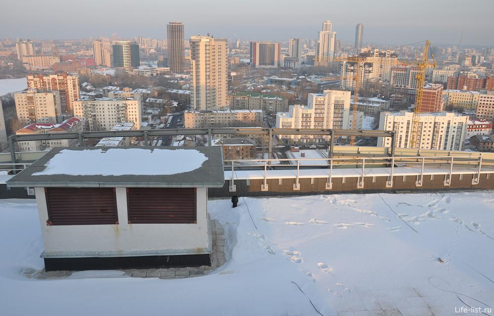 Екатеринбург вид с высоты Адмиральский