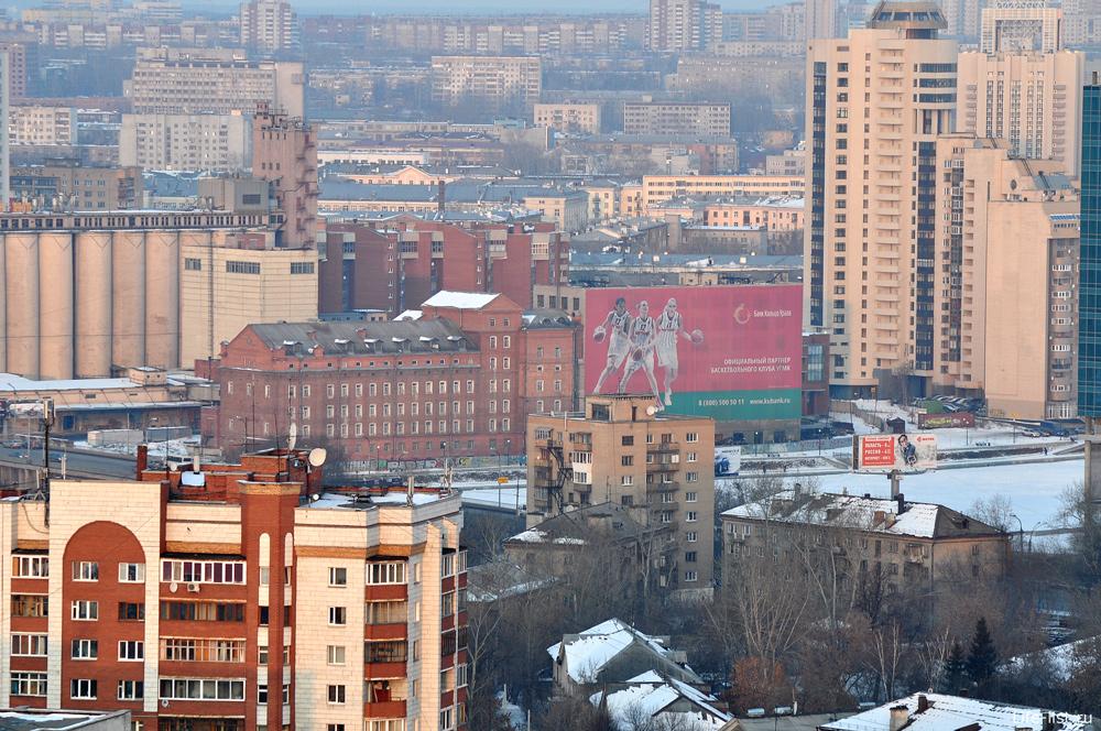 Екатеринбург вид с высоты Адмиральский фото