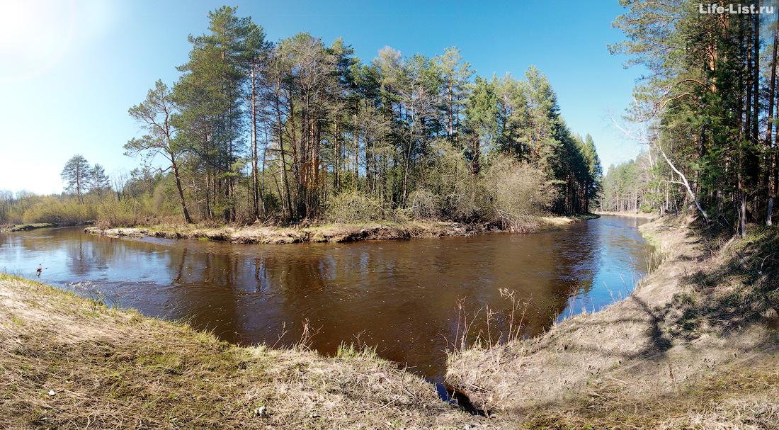 Река Адуй фото