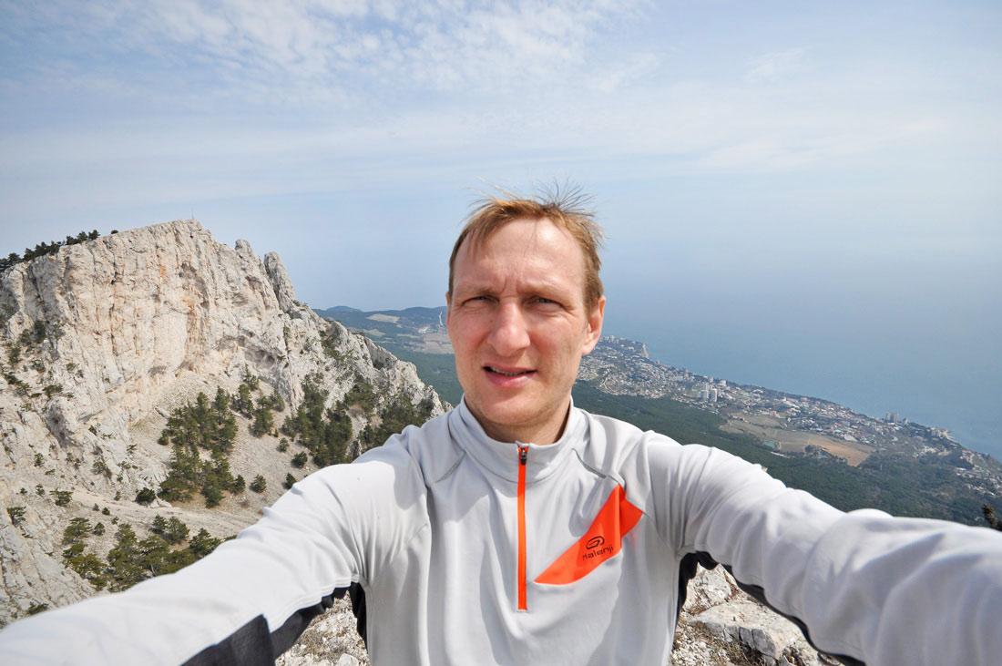 в горах Крыма Vitaly Karavan