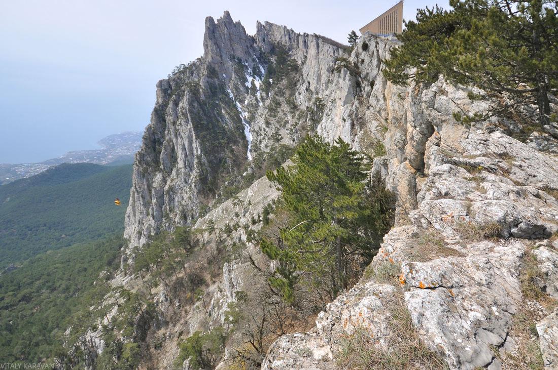 гора ай-петри пешком ялта крым фото